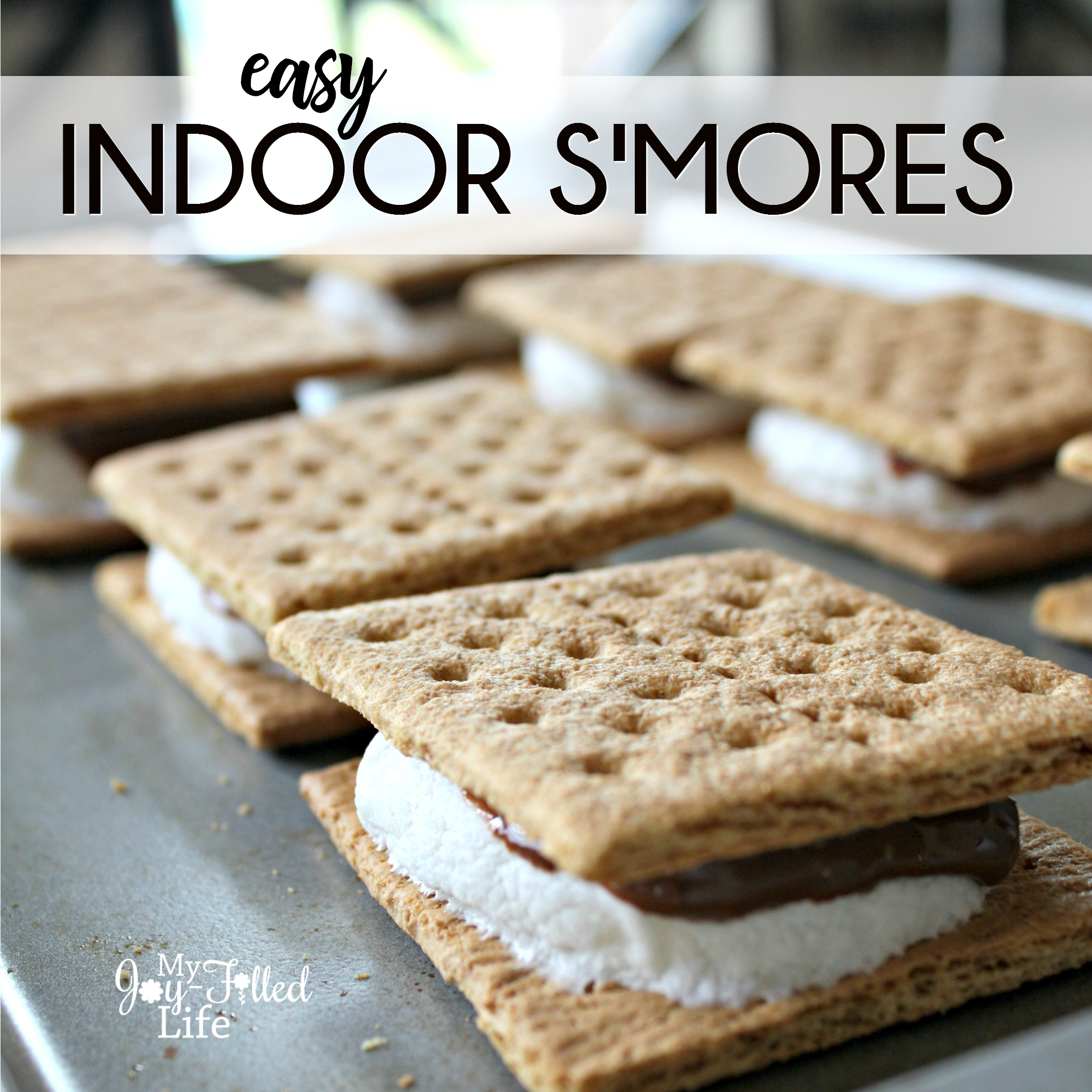 Easy Indoor S'mores